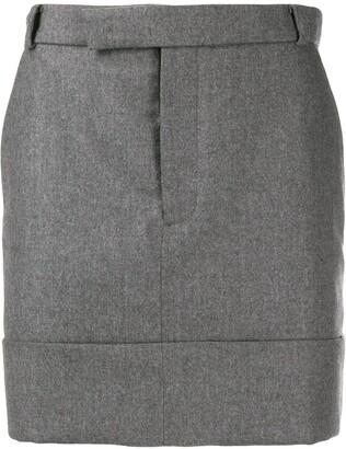 Thom Browne Mid-tight Belt-loop skirt
