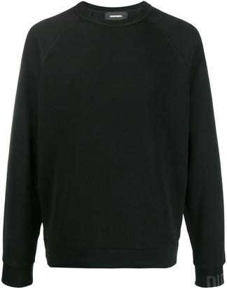 Diesel Micro-Waffle Sweatshirt