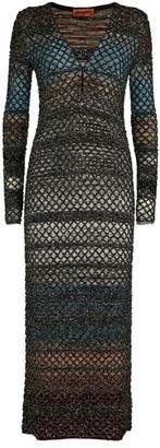Missoni Long-Sleeved Maxi Dress