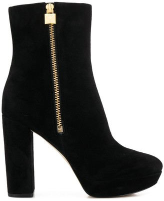 MICHAEL Michael Kors High-Heeled Ankle Boots
