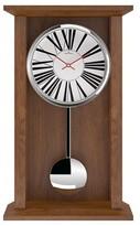 "Oliver Hemming Oakwood Pendulum Clock with Roman Number Dial (12"")"