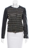 Golden Goose Deluxe Brand Embellished Leather Jacket w/ Tags