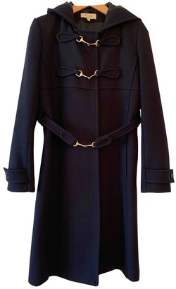 Paul & Joe Blue Wool Coat for Women