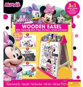 Bendon Minnie Mouse Wooden Easel with Accessories