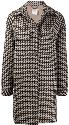 Stella McCartney Patterned Single-Breasted Coat
