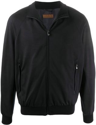 Corneliani Zip-Front Bomber Jacket