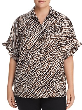 MICHAEL Michael Kors Animal Print Shirt