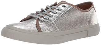 Frye Women's Gia Canvas Low Lace Sneaker