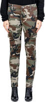 Black Orchid Caille Skinny Camo-Print Cargo Pants
