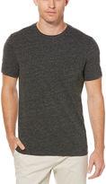 Perry Ellis Slub Crew Neck Pocket T-Shirt