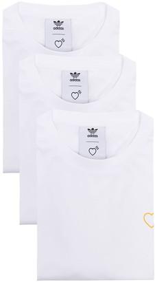 adidas x Human Made Japanese-font T-shirt