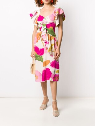 La DoubleJ Date Night floral print dress