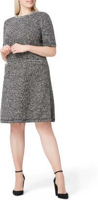 Tahari Boucle Knit Dress