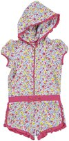 Juicy Couture Hooded Romper (Toddler/Kid) - Floral-6x
