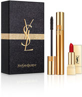 Saint Laurent Mascara Volume Effet Faux Cils + Rouge Pur Couture Set