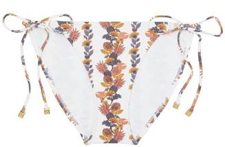 Tory Burch Gemini Link Printed String Bikini Bottom