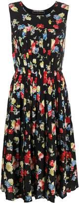 Ermanno Scervino floral pleated dress