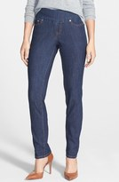 Jag Jeans 'Malia' Pull-On Stretch Slim Jeans (Dark Shadow)