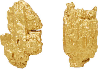 Ingy Stockholm Gold Symphony No. 1 Asymmetric Earrings