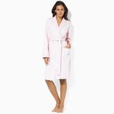 Ralph Lauren Quilted Shawl-Collar Robe