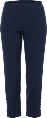 Slim Sation SLIM-SATION Women's Solid Crop Pant
