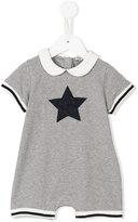 Moncler star print romper - kids - Cotton/Spandex/Elastane - 0-3 mth