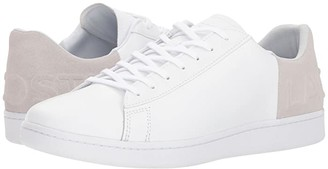 Lacoste Carnaby Evo 318 6 (White/Light Grey) Men's Shoes