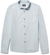 A.p.c. - John Washed-denim Shirt