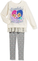 Nickelodeon Nickelodeon's Shimmer & Shine 2-Pc. Tunic & Leggings Set, Toddler Girls (2T-5T) & Little Girls (2-6X)