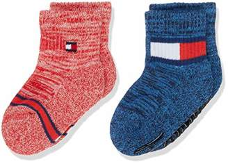 Tommy Hilfiger Baby TH Sock 2P Run Free ABS,(Pack of 2)