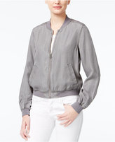 Jessica Simpson Shauna Embroidered Bomber Jacket