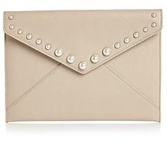 Rebecca Minkoff Leo Small Leather Clutch