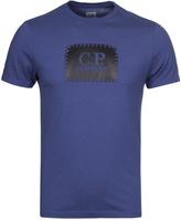 Cp Company Royal Blue Jersey Short Sleeve T-shirt