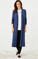 J. Jill Wearever Long Open-Front Jacket