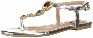 Betsey Johnson Women's GLOWW Flat Sandal