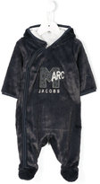 Little Marc Jacobs dislocated zip hooded pyjama