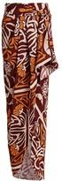 Johanna Ortiz Motives Of Exploration Printed Wrap Maxi Skirt