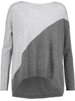 Alice + Olivia Abbie Two-Tone Wool-Blend Sweater