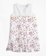 Brooks Brothers Cotton Bug Print Dress