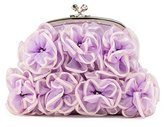Farfalla Womens 90326 Clutch Lilac