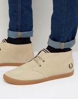 Fred Perry Byron Mid Suede Sneakers
