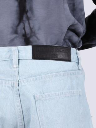 Light Blue Logo Patch Skinny Jeans