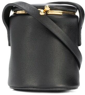 Jil Sander Mini Leather Crossbody Bag
