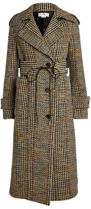 Victoria Beckham Tweed Trench Coat