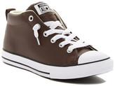 Converse Chuck Taylor All Star Leather Mid Sneaker (Little Kid & Big Kid)