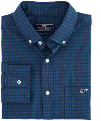 Vineyard Vines Classic Fit Dorade Cotton Performance Tucker Button-Down Shirt
