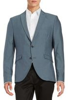 Selected Two-Button Cotton-Blend Jacket
