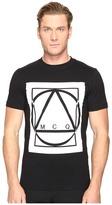 McQ by Alexander McQueen Graphic Logo Short Sleeve T-Shirt Men's T Shirt