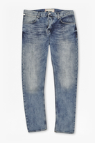 Dot Faded Skinny Jeans