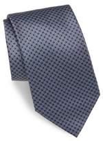 Brioni Mini-Square Print Silk Tie